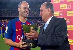 جشن قهرمانی بارسلونا در جام خوان گامپر