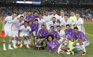 رئال مادرید فاتح جام سانتیاگو برنابئو