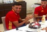 تولد مونیر الحدادی در اردوی تیم ملی اسپانیا