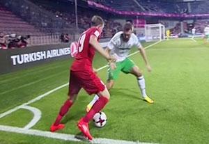خلاصه بازی جمهوری چک 0-0 ایرلند شمالی