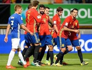 ترکیب اصلی اسپانیا-مقدونیه