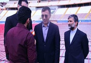 آخرین وضعیت ورزشگاه یادگار امام برای قبل بازی تراکتورسازی - پرسپولیس
