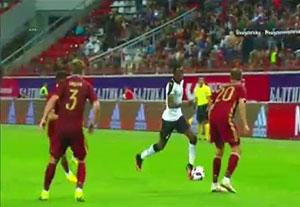 خلاصه بازی روسیه 1-0 غنا