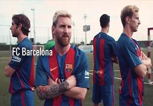 چالش پنالتی بازیکنان بارسلونا با تیم پارالمپیک اسپانیا