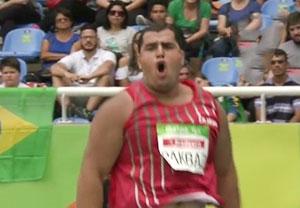 کسب مدال نقره سامان پاکباز در پرتاب وزنه