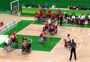 خلاصه بسکتبال با ویلچر ایران 62-82 انگلیس