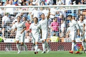 پیروزی پر گل رئال مادرید در روز بازگشت رونالدو