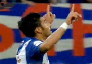 گل اول قوچان نژاد در بازی مقابل توئنته