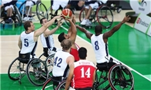 تیمملی بسکتبال با ویلچر از صعود به فینال بازماند