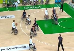 خلاصه بسکتبال با ویلچر الجزایر 24-92 آمریکا