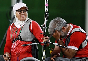 مصاحبه نعمتی و رنجبر بعد از کسب مدال نقره
