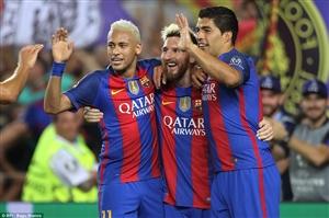 ترکیب اصلی لگانس - بارسلونا