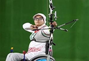 کسب مدال طلا زهرا نعمتی در ریکرو انفرادی