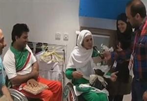 لحظات زیبا از ازدواج زهرا نعمتی و رهام شهابی