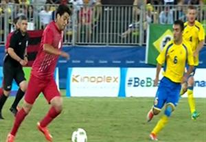 خلاصه بازی ایران 1-2 اوکراین (فوتبال 7 نفره)