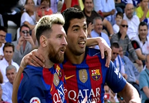 خلاصه بازی لگانس 1-5 بارسلونا