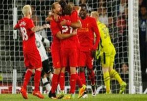 خلاصه بازی دربی کانتی 0-3 لیورپول