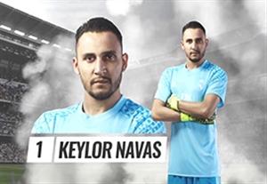 بازگشت ناواس به ترکیب رئال مادرید در مقابل لاس پالماس