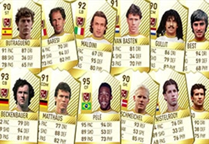 تیم منتخب اسطوره های فوتبال در فیفا 17