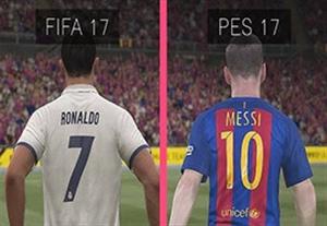 مقایسه گرافیکی بازی FIFA 17 و PES 17