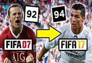 5 بازیکن برتر فیفا از 2007 تا 2017