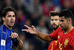 خلاصه بازی ایتالیا 1-1 اسپانیا