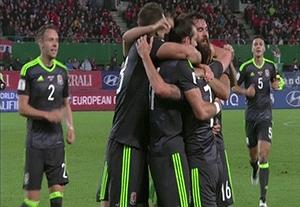 خلاصه بازی اتریش 2-2 ولز