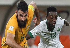 خلاصه بازی عربستان 2-2 استرالیا
