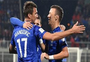 گلهای بازی کوزوو 0-6 کرواسی (هتریک مانژوکیچ)
