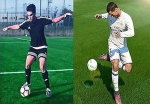 آموزش تکنیک های فوق العاده به سبک FIFA17