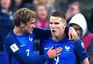 خلاصه بازی فرانسه 4-1 بلغارستان