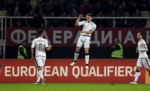 پیروزی دشوار ایتالیا برابر مقدونیه