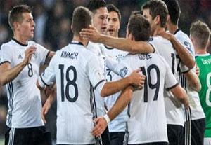 خلاصه بازی آلمان 2-0 ایرلند شمالی