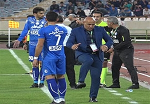 آموزش جالب فوتبال منصوریان به بختیار رحمانی (اختصاصی ورزش3)