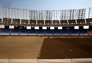 تصاویر دیدنی از آماده سازی ورزشگاه نقش جهان