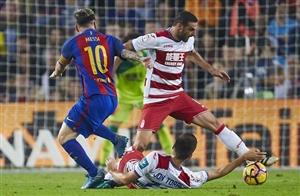 بارسا 1-0 گرانادا؛ پیروزی با اعمال شاقه