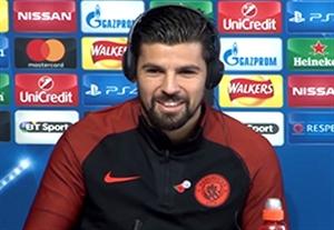 چالش عجیب نولیتو در کنفرانس خبری قبل از بازی بارسلونا