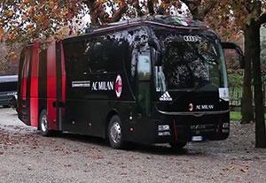 سفر بازیکنان میلان به پالرمو