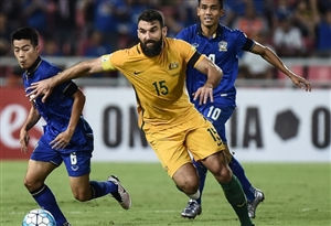 خلاصه بازی تایلند 2-2 استرالیا