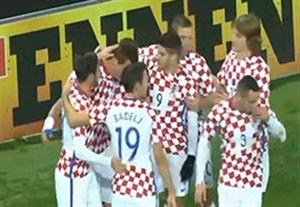 خلاصه بازی ایرلند شمالی 0-3 کرواسی