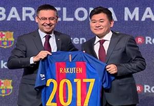 راکوتن اسپانسر جدید بارسلونا