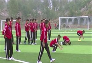 تمرینات عجیب کونگ فو در فوتبال پایه چین