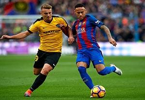 خلاصه بازی بارسلونا 0-0 مالاگا