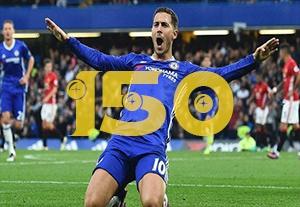 به مناسبت رکورد 150 بازی در لیگ برتر ادن هازارد