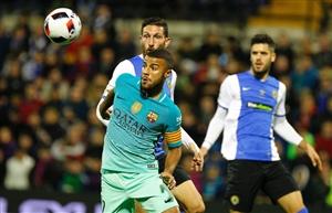 توقف بارسلونا برابر هرکولس در کوپا دل ری