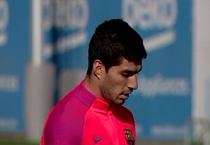 تمرین امروز بارسلونا (95/09/11)