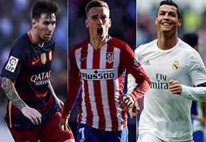 سه بازیکن برتر سال 2016 از منظر فیفا