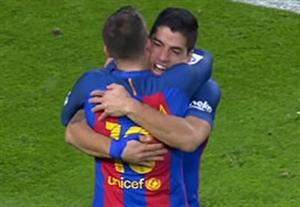 گل سوارز؛ بارسلونا-رئال مادرید HD