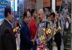 بازگشت تیم پاورلیفتینگ ایران بعد از افتخار آفرینی