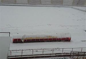 لغو بازی پدیده - پرسپولیس به دلیل بارش برف